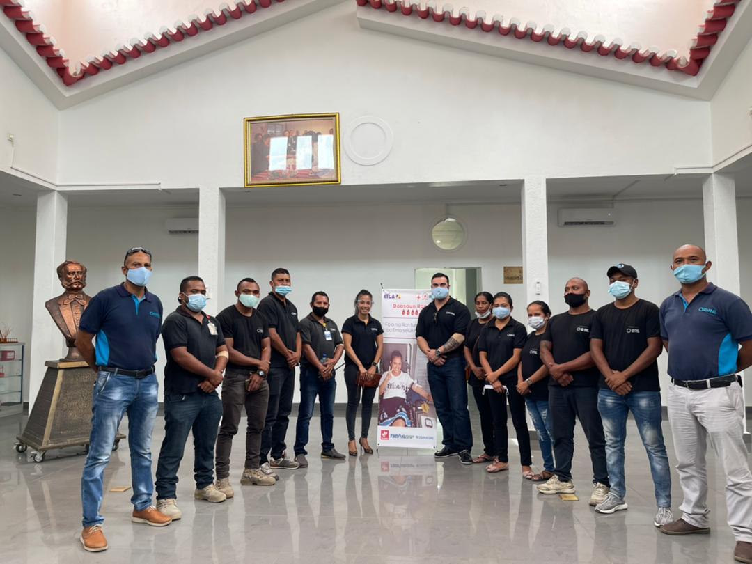 Sentinel Team participates in community blood drive
